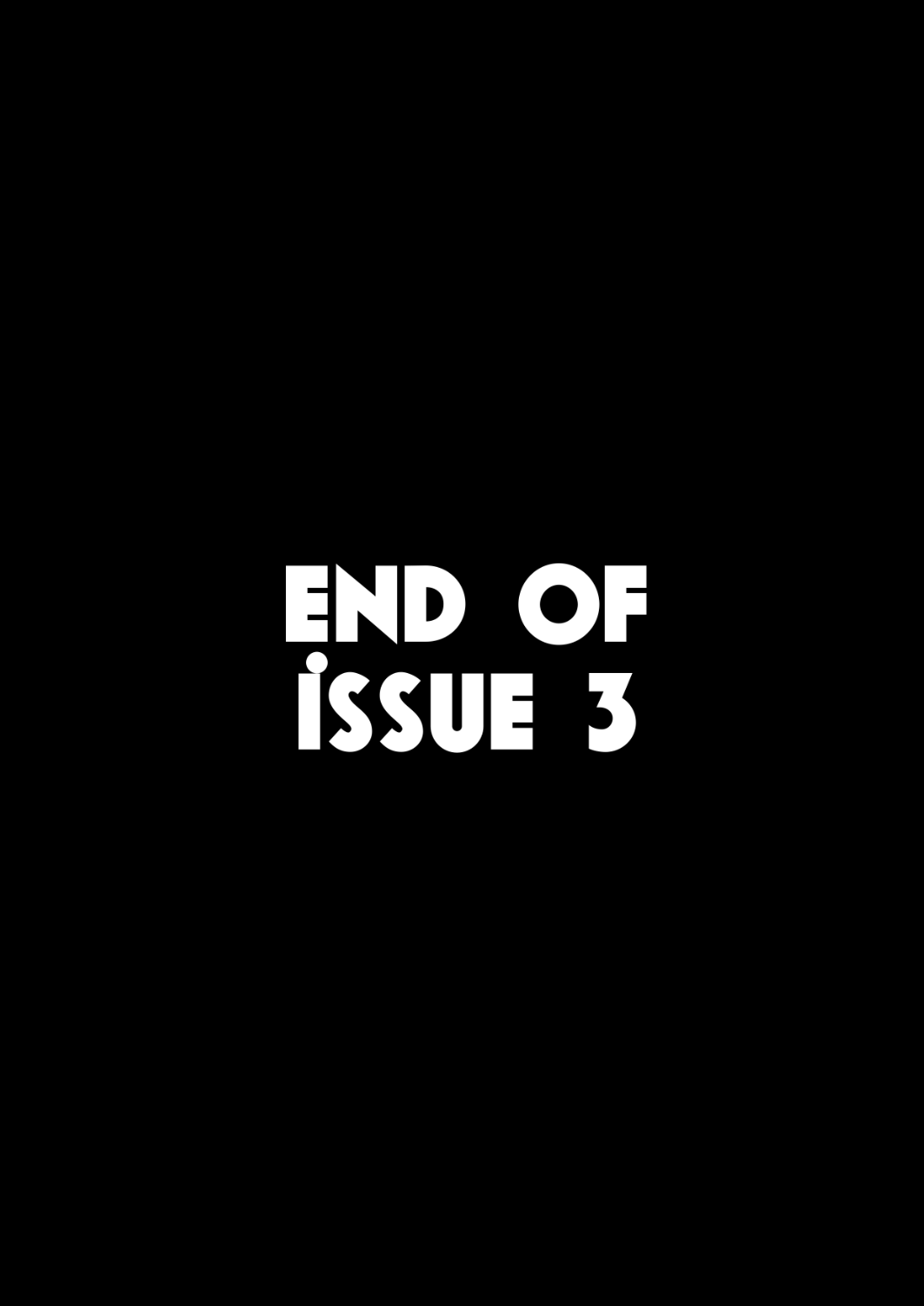 End Card - Issue 3
